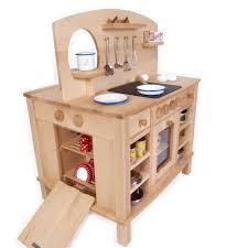 spielküche holz 4 seitg bespielbare kinder küche holz spielzeug peitz