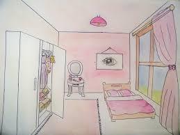 comment dessiner une chambre en perspective comment dessiner sa chambre chambre montessori lit au sol