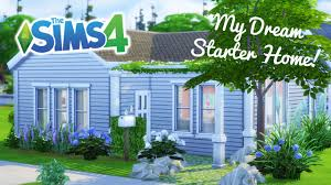 build my home the sims 4 speed build my starter home