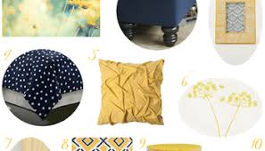 Blue And Yellow Home Decor by Rustic Home Decor