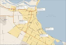 Corpus Christi Map Selena Attractions