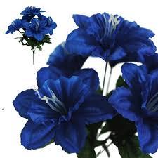 wedding flowers royal blue 72 silk daffodil royal blue silk flowers factory