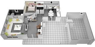 Plan De Maison En Longueur De Maison 60m2 Avec Etage