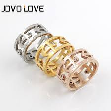 crystal rings wholesale images The 254 best jovolove rings images stainless steel jpg