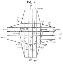 patent ep0900163b1 cruciform parachute design google patents