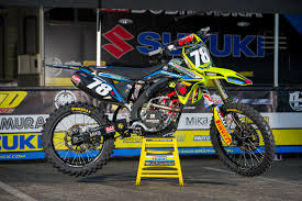 motocross races uk factory suzuki the machines transworld motocross
