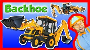 great halloween movies for kids backhoe excavator for kids explore a backhoe youtube