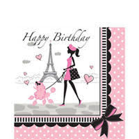 Paris Themed Party Supplies Decorations - pink paris party supplies paris theme party party city pink