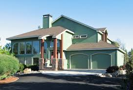 rustic green home solar home efficient modern house plan