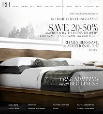 restoration hardware save 20 50 at the home furnishings event