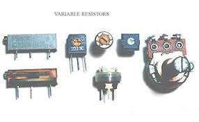 variable resistor working specification types and applications