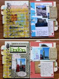 travel photo albums diy travel journal smash book gift idea for a graduate journal