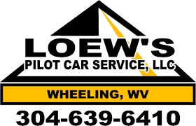 car service logo wheeling pilot car operator wesley loew pilot car operator