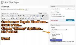 create an effective sitemap page template in wordpress u2013 john