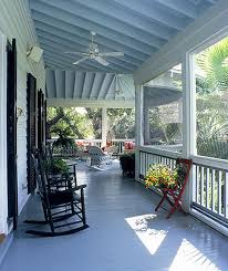 the mystery behind the blue porch ceiling custom decks porches