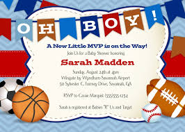 Basketball Themed Baby Shower Decorations Basketball Themed Baby Shower Invitations Theme Sports Ticket Ba