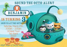 octonauts birthday invitations octonauts birthday invitations for