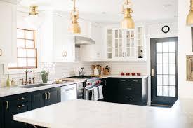 modern day kitchen a renovated english tudor with a modern day soul kitchen black