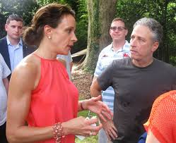 reading matters nothing like a backyard barbecue with jon stewart