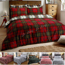 flannel striped bedding sets duvet covers ebay