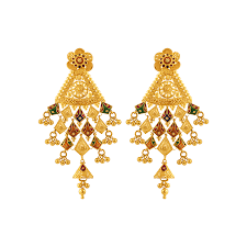 gold earrings online 22kt yellow gold earring gold earrings online for women p c