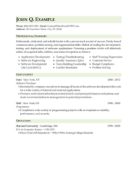 resume for software developer professional executive u0026 military resume samples by drew roark cprw