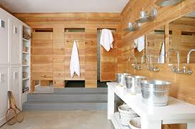 cabin style bathroom design ideas