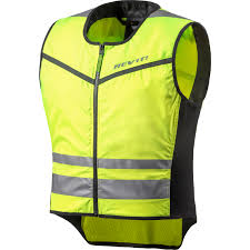 motorcycle vest rev it athos 2 hi vis motorcycle motorbike over vest lightweight