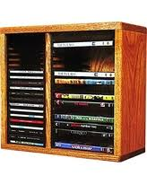 Oak Cd Storage Cabinet Christmas Savings On The Wood Shed 211 4 W Cd Dvd U Solid Oak Cd