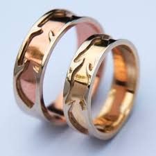 American Wedding Rings by Ojibwe Wedding Rings Overlay Wedding Rings Symbolizing Truth