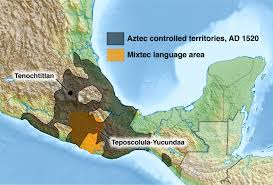 aztec map of mexico mixtecs aztecs and the great cocoliztli epidemic of ad 1545 1550