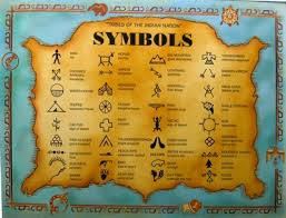indianer spr che indianische symbole spc004