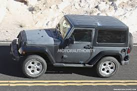 jeep truck spy photos spy shots 2018 jeep wrangler development mule jk forum