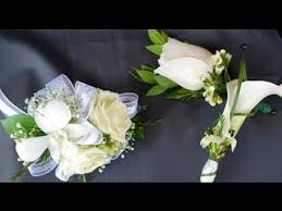 calla corsage calla wedding corsages