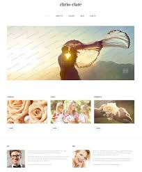 Wedding Album Companies 60 Beautiful Wedding Website Templates Free U0026 Premium Wpfreeware