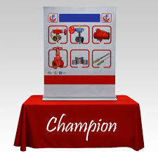 retractable table retractable banner stand printing irvine orange county ca