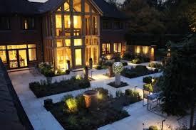 studies ornamental garden lighting