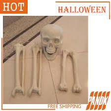 Halloween Props Decorations halloween props halloween skeleton bones haunted house skull