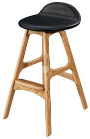 timber bar stools replica erik buch bar stools ash timber legs white italian leather
