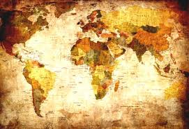 Beautiful World Map by Vintage World Map Wallpaper R Wall Murals Rebel Walls And