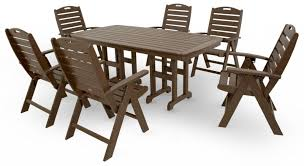 Recycled Plastic Patio Furniture Recycled Plastic Stacking Armless Patio Chair Etampt Distributors