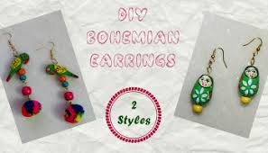How To Make Bohemian Jewelry - college farewell first time in a saree with diy accessories u2013 diy