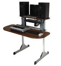 Build A Studio Desk by Sefour X15 Studio Dj Desk Tobacco Walnut Dj Equipment