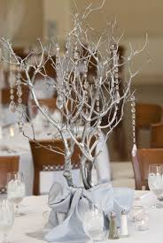 tree branch centerpieces fabulous winter wedding table decorations ideas 1000 ideas about