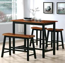 counter height dining room set with bench table sets 2729 high