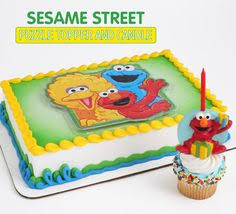 sesame cake toppers sesame cake topper and elmo candle bakery crafts http www