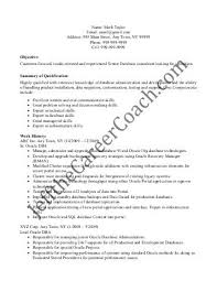 oracle developer resume sample sample assessment report oracle