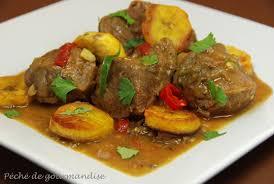 cuisiner le plantain curry d agneau aux bananes plantain sautées péché de gourmandise