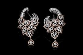 heavy diamond earrings home anutammam