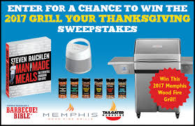 the barbecue bible 2017 grill your thanksgiving sweepstakes